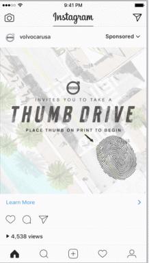 quảng cáo Instagram video