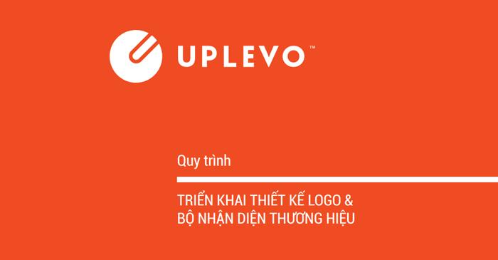 quy trình thiết kế logo Uplevo