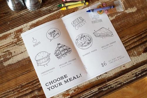 sắp xếp bố cục hợp lý trong menu