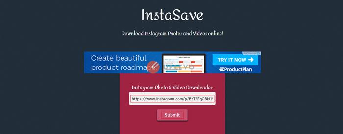 tải video hình ảnh Instagram trên máy tính 3