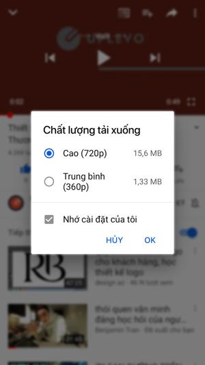 tải video từ Youtube về ứng dụng điện thoại 2