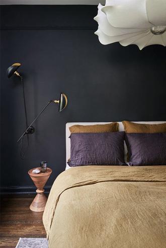 tạo chiều sâu cho thiết kế phòng ngủ