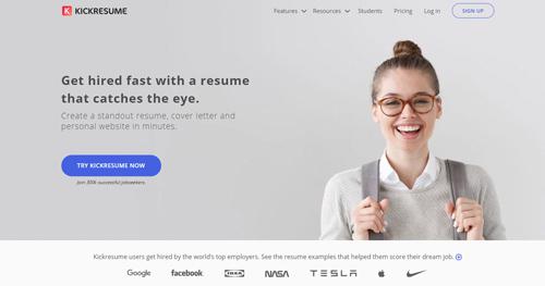 tạo CV online Kickresume