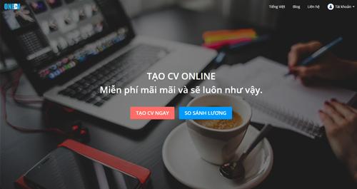 tạo CV online OneCV