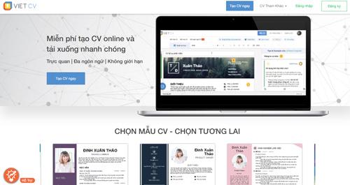tạo CV online VietCV