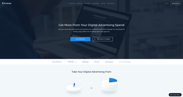 tạo landing page InstaPage