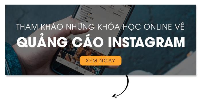 khóa học online về quảng cáo Instagram