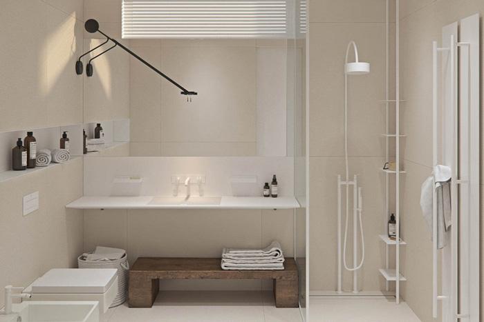 thành công của trường phái thiết kế nhà tắm tối giản