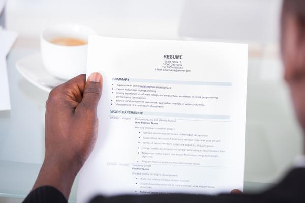 thể hiện yếu tố chuyên nghiệp trên CV