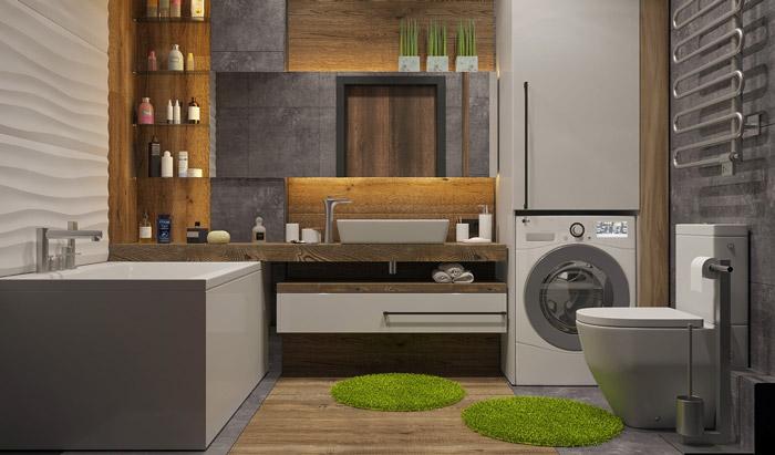 thêm các đồ nội thất tự nhiên cho phòng tắm của bạn