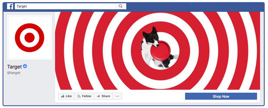 thiết kế ảnh bìa Facebook giống logo