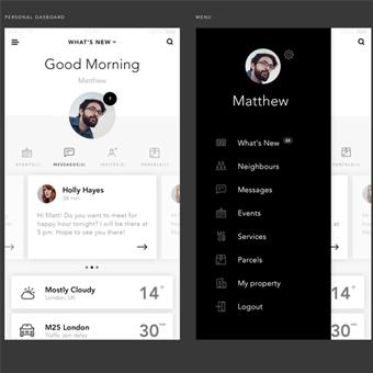 thiết kế app ứng dụng tối giản 2
