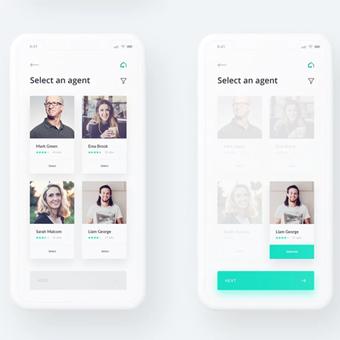 thiết kế app ứng dụng tối giản 1