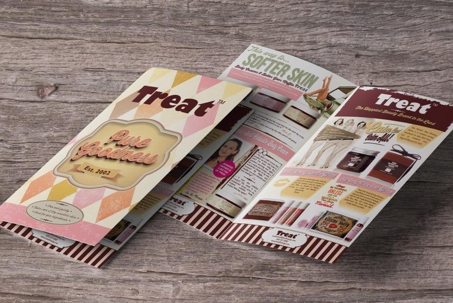thiết kế brochure chuyên nghiệp