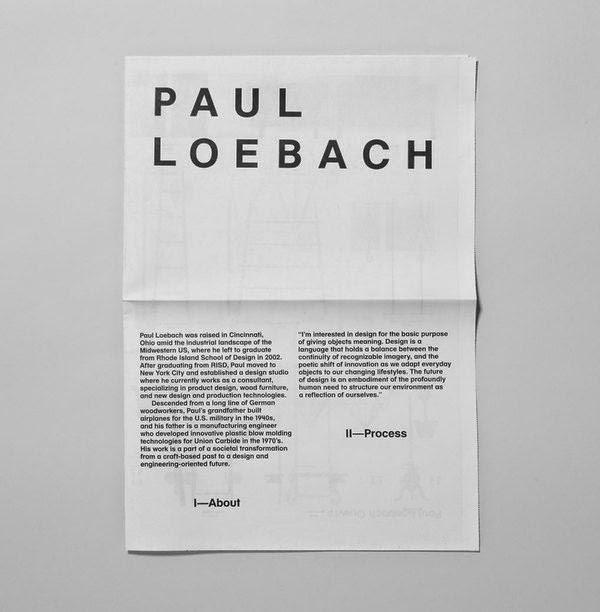 thiết kế catalogue Paul Loebach