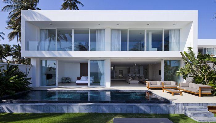 thiết kế kiến trúc villa hiện đại