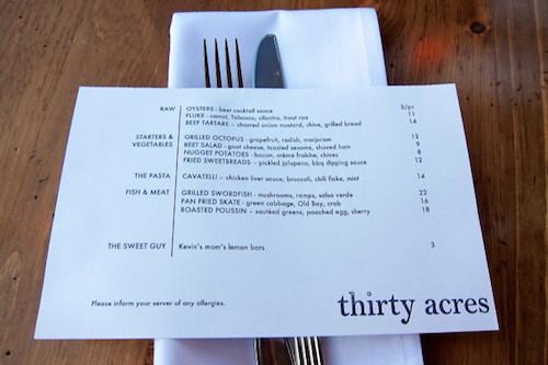 thiết kế menu mini