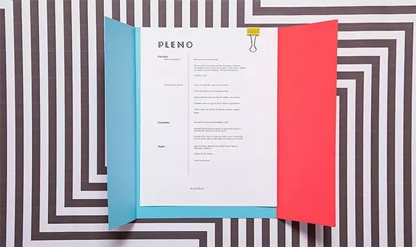 thiết kế menu pleno