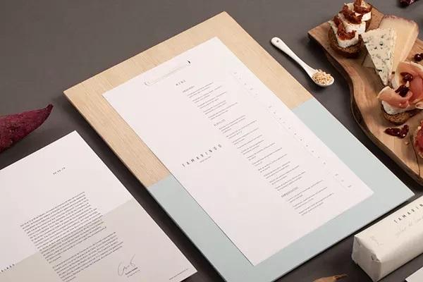 thiết kế menu tamarindo