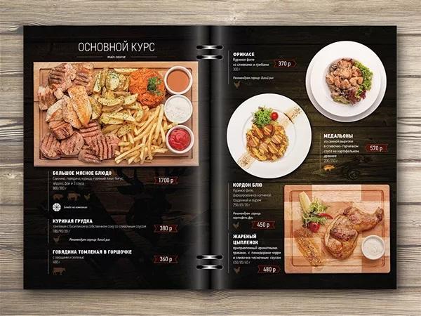 thiết kế menu veleson