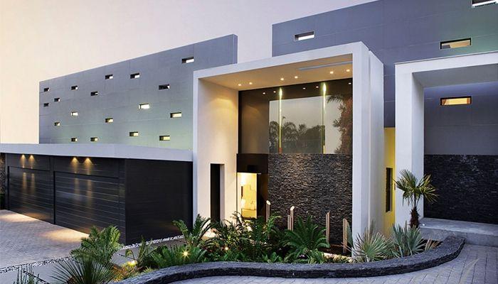 thiết kế nhà đẹp có mặt tiền hiện đại 1