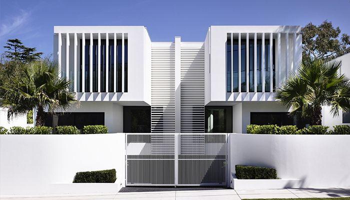 thiết kế nhà đẹp có mặt tiền hiện đại 2