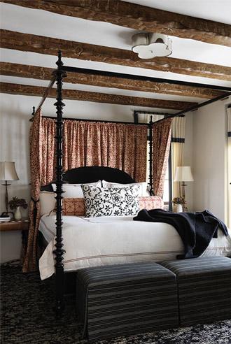 thiết kế nội thất phòng ngủ phong cách Tây Ban Nha
