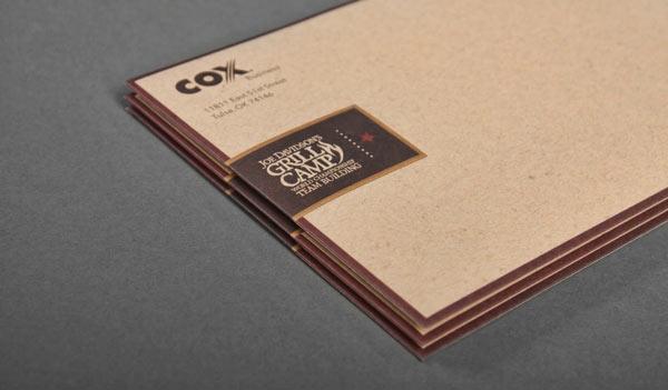 thiết kế phong bì box business 2