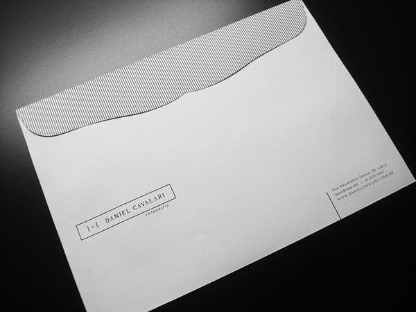 thiết kế phong bì papelaria