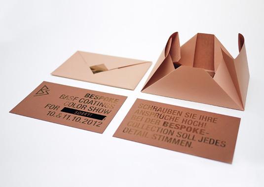 thiết kế phong bì thư bespoke