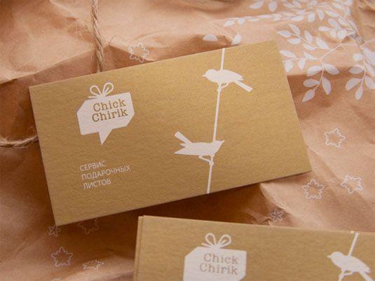 thiết kế phong bì thư ChickChirik