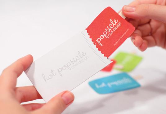 thiết kế phong bì thư hot popsicle