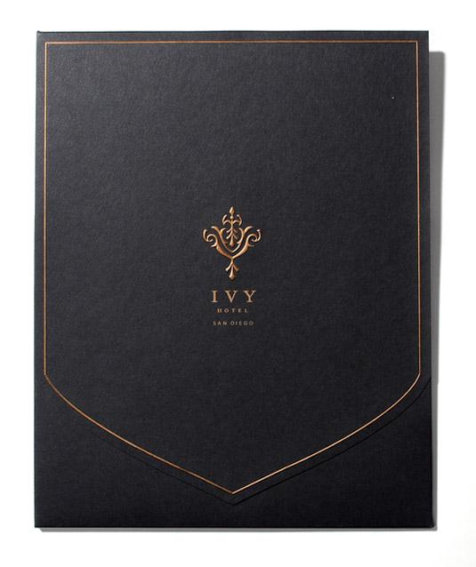 thiết kế phong bì thư ivy hotel