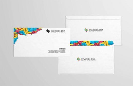 thiết kế phong bì thư symphonesia