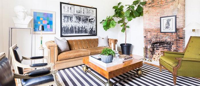 thiết kế phòng khách tại Nashville
