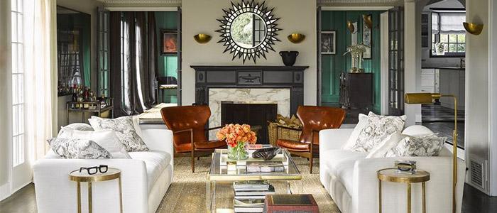 thiết kế phòng khách theo lối kiến trúc đương đại