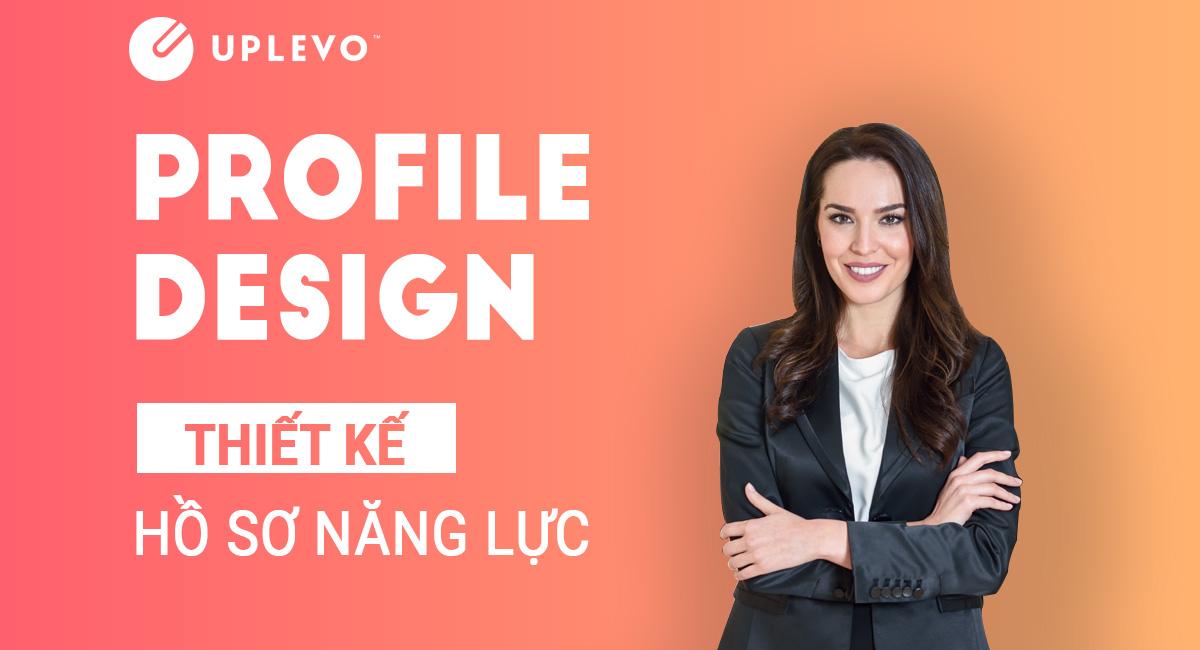 thiết kế profile hồ sơ năng lực