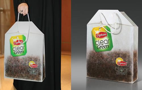 thiết kế túi giấy bắt mắt