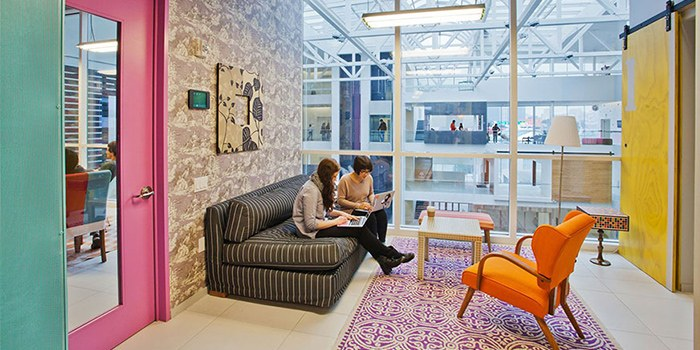 thiết kế văn phòng airbnb 1