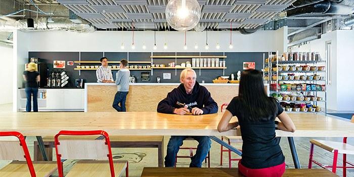 thiết kế văn phòng facebook 2