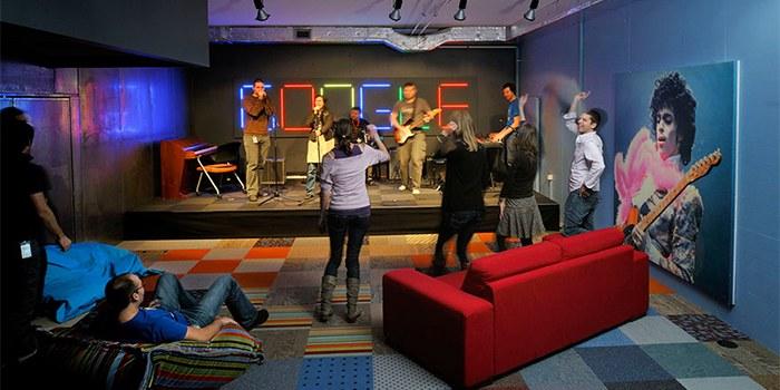 thiết kế văn phòng Google Tel Aviv 2