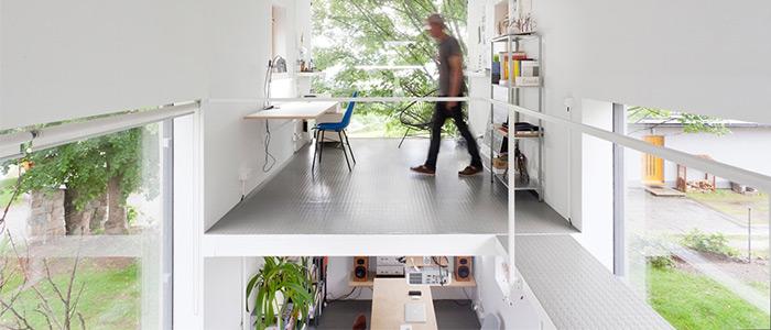 thiết kế văn phòng làm việc Alexandra Timpau