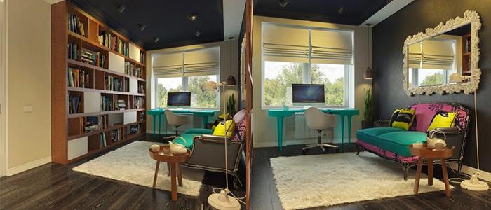 thiết kế văn phòng làm việc Dmitriy Schuka