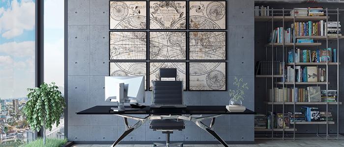 thiết kế văn phòng làm việc George Dimitrov