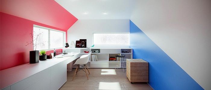 thiết kế văn phòng làm việc Michael Nowak