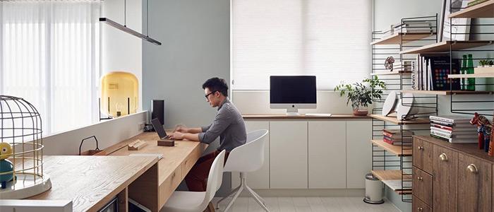 thiết kế văn phòng làm việc nordico