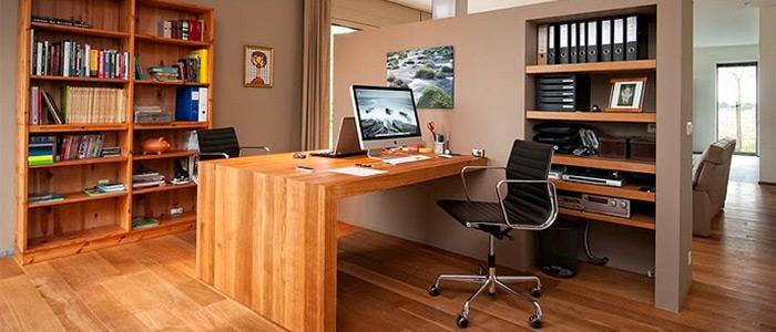 thiết kế văn phòng làm việc Tom Robbrecht