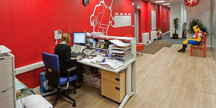thiết kế văn phòng lego 2