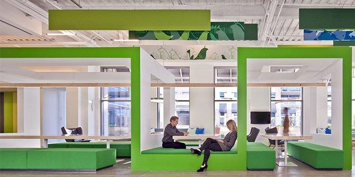 thiết kế văn phòng nokia 1