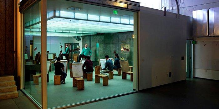 thiết kế văn phòng zynga 1
